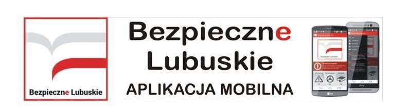 Baner: Aplikacja mobilna - Bezpieczne lubuskie