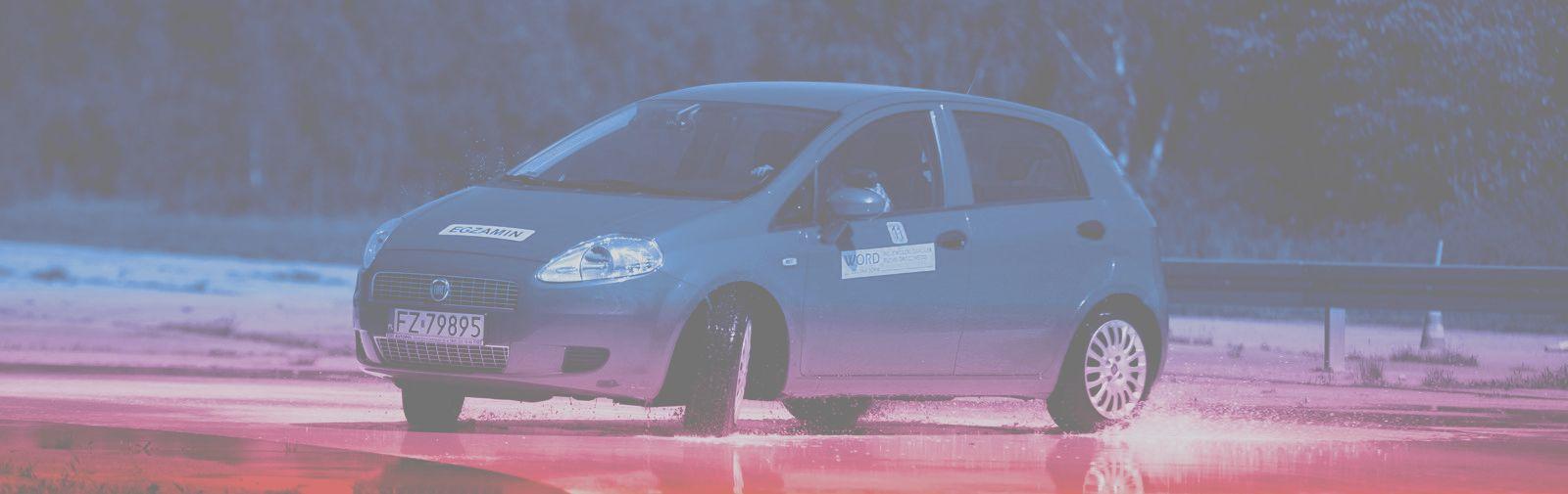 Ilustracja do informacji: Doskonalenie techniki jazdy samochodem osobowym